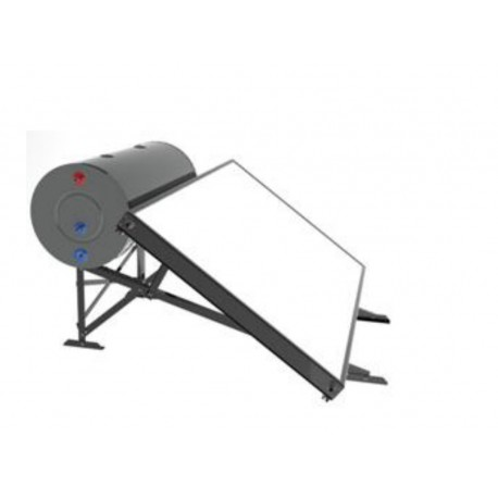 Equipo de termosifón PATSM 150 L horizontal