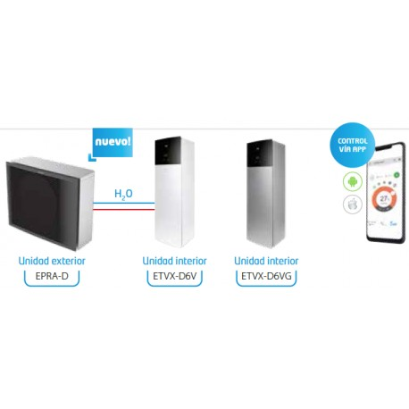 DAIKIN ALTHERMA 3 SUPRA Diseño Integrado