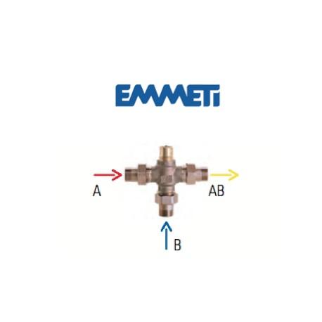Válvula mezcladora a tres vías para kit regulación electrónica
