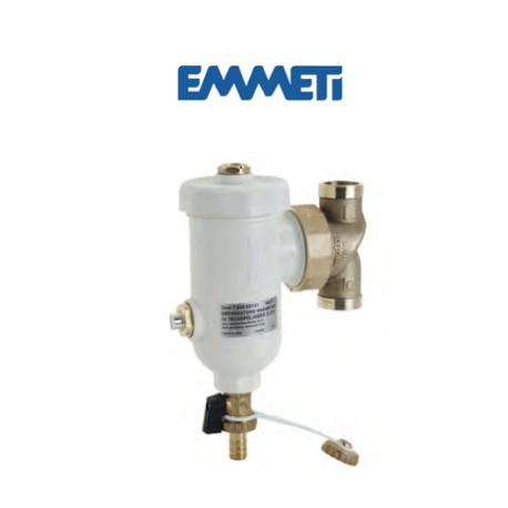 Separador de fangos magnético para circuitos de calefacción y refrigeración