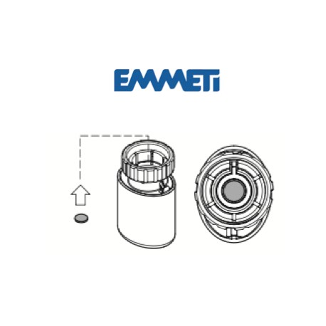 Adaptador para Control T - Cabezal termoeléctrico
