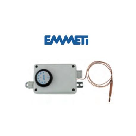 Caja eléctrica con termostato de seguridad para cableado bomba circuladora baja temperatura
