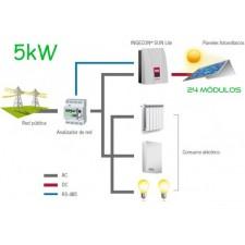 Kit Autoconsumo ANTI-VERTIDO CGS-5000W-AV